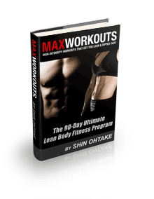 The MAX Workouts Book Cover