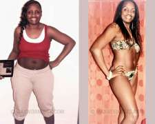 Tsitsi's before and after photo