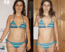 Joana's before and after photo