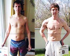 John, 46: I lost 3% body fat while gaining 5 pounds and 3.6inches of lean muscle mass