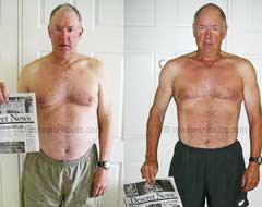 Mike, 61: I lost 20 pounds & did an Olympic distance triathlon