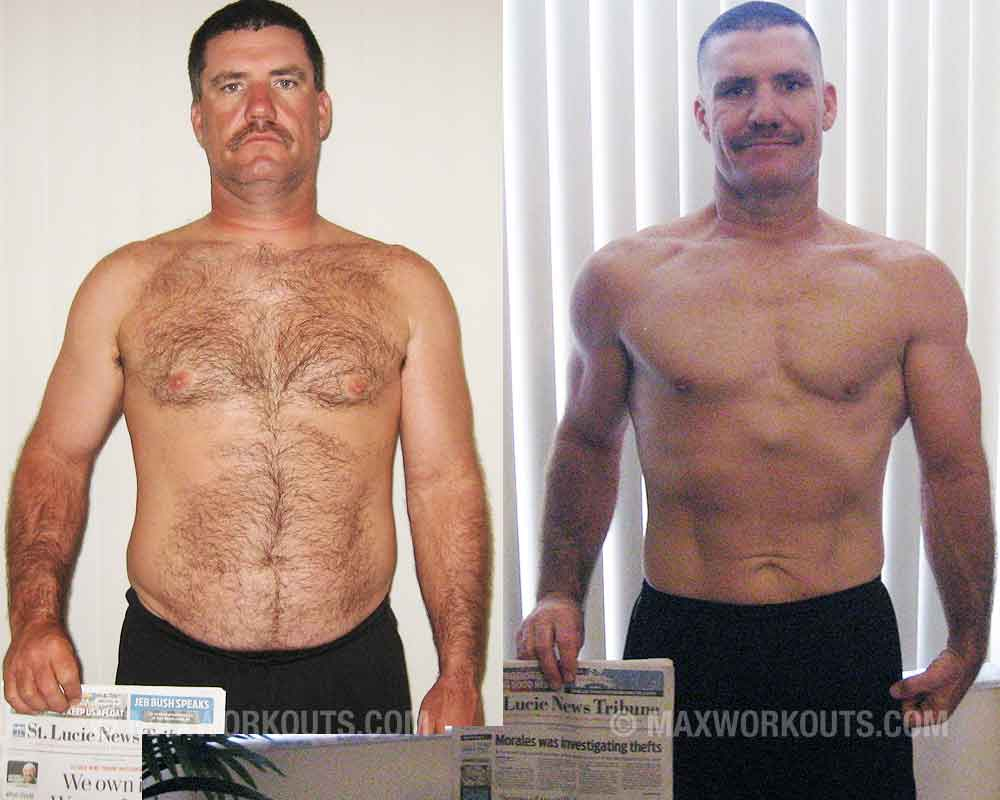 Lean Muscle Body Before And After Fat to lean body trans...